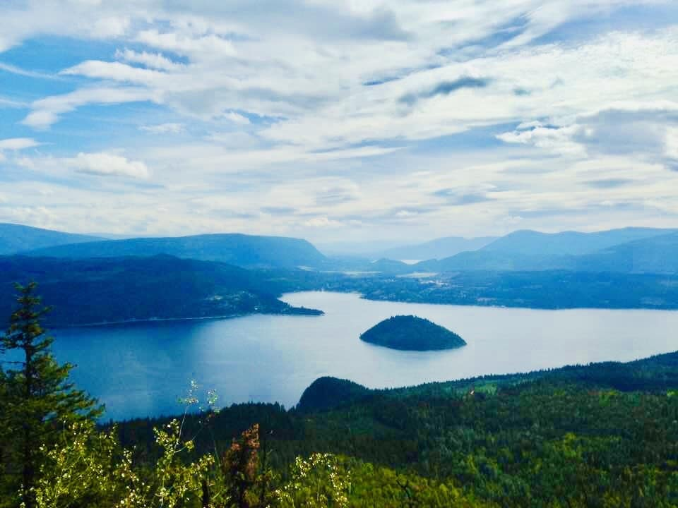 Image 10 Views over Shuswap Lake, Copper Island, and Blind Bay from the Scotch Creek Lookout Trail